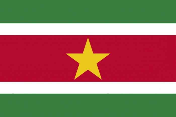 Which country has the flag - green, white, red?